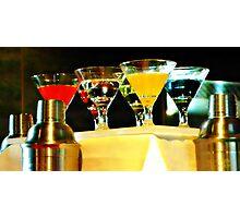 Martini Time Photographic Print