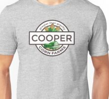 Cooper Corn Farms - greater than gravity Unisex T-Shirt