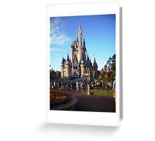 Walt Disney World- Castle Greeting Card