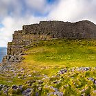 A Place By The Sea - Dun Aengus - Ancient Ruins by Mark Tisdale