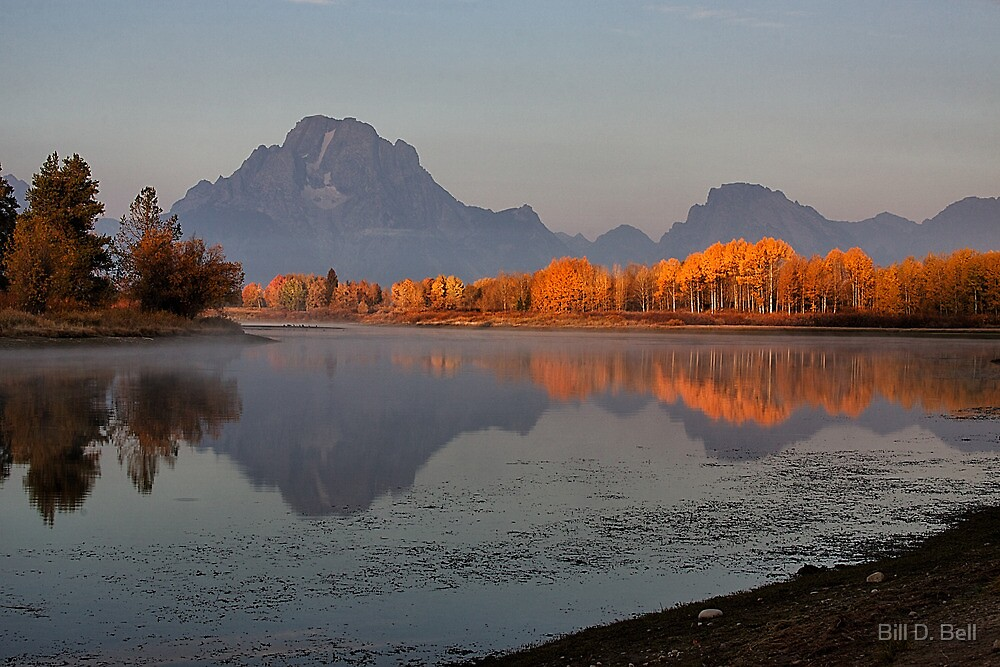 Oxbow Bend by Bill D. Bell
