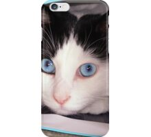 Big Blue Eyes! iPhone Case/Skin