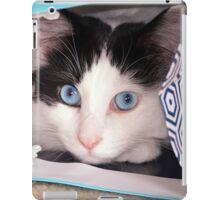 Big Blue Eyes! iPad Case/Skin
