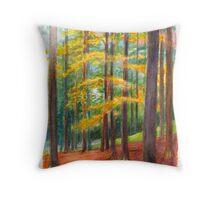 The Black Forest at Hinterzarten Throw Pillow