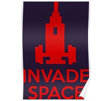 Invade Space Poster