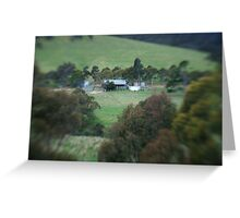 A view from the farm Greeting Card