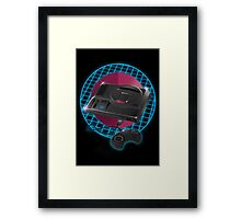80s gaming console Framed Print