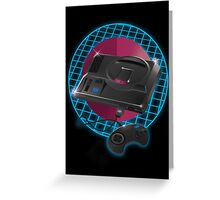 80s gaming console Greeting Card