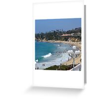 Swim Time in Laguna Beach Greeting Card