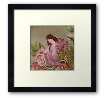 Persephone Before The Fall Framed Print