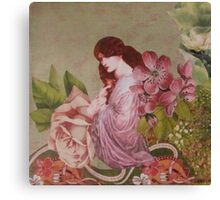Persephone Before The Fall Canvas Print