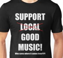 Support GOOD Music Unisex T-Shirt