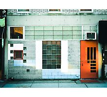 Brooklyn Facade  Photographic Print