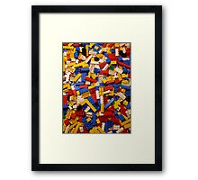 Lots of Lego Framed Print