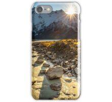 Sunburst Over The Mountains iPhone Case/Skin