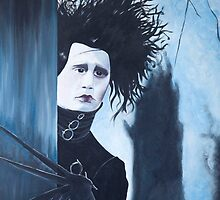 Edward Scissorhands - Johnny Depp by Sharyn Kimpton