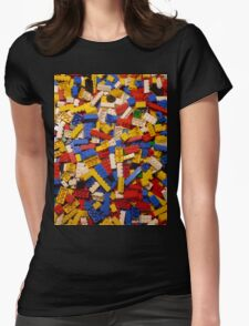 Lots of Lego Womens Fitted T-Shirt