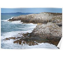 Holyhead Seascape Poster