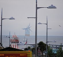 Clacton on Sea with an environmental bent by Helen Greenwood