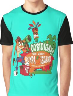 Welcome to Wumpa Island Graphic T-Shirt