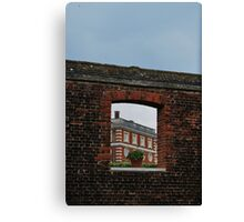 Window to Hampton Court Palace Canvas Print