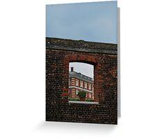 Window to Hampton Court Palace Greeting Card