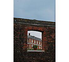 Window to Hampton Court Palace Photographic Print