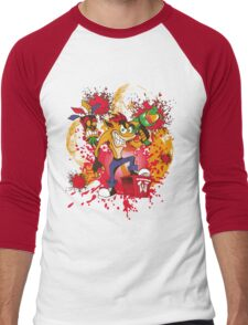 Bad-A Bandicoot Men's Baseball ¾ T-Shirt
