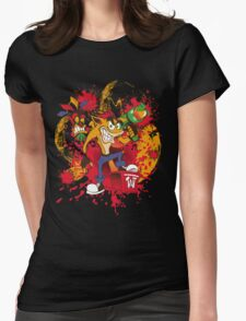 Bad-A Bandicoot Womens Fitted T-Shirt