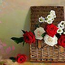 Rose Basket  by Irene  Burdell