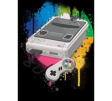 Gaming console splatter Photographic Print
