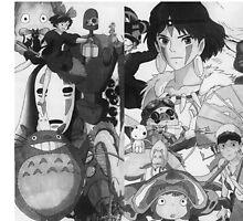 Studio Ghibli montage by Smellymudhut