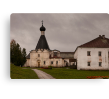 Monastery of St Cyril, Russia Canvas Print