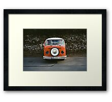 Hippy Bus Framed Print