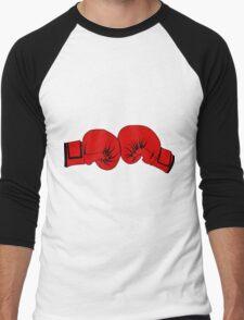 Boxing Gloves Men's Baseball ¾ T-Shirt