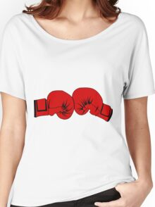 Boxing Gloves Women's Relaxed Fit T-Shirt