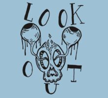 Look out, or they are popping out. Kids Tee