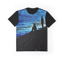 people on lake as tourist Graphic T-Shirt
