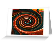 Mixed Paint Greeting Card