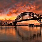 Kirribilli Sunrise - Panorama by Arfan Habib