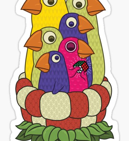 Smart Bird Sticker