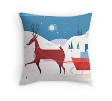 Christmas Is Coming! Throw Pillow