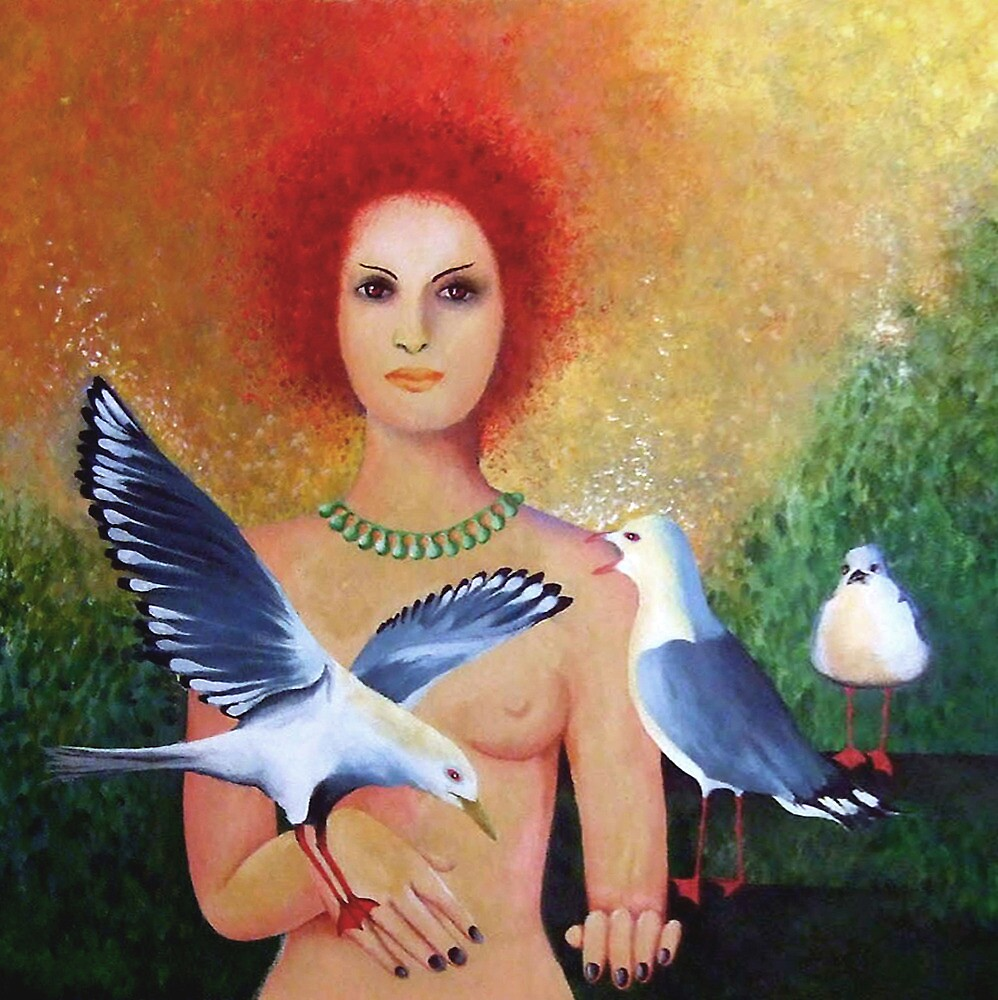 Gull Woman by rubylily