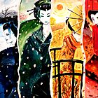Japanese Ladies by debzandbex