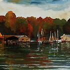 The End Of The Sailing Season by Barbara Pommerenke