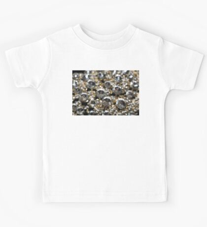 Diamonds and Gold Blurred 2 Kids Tee