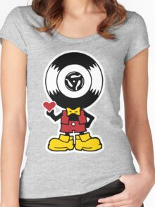 Vinyl Richie Women's Fitted Scoop T-Shirt