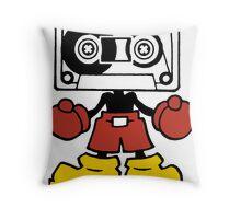 Mix-Tape Throw Pillow