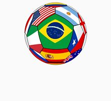 Ball With Various Flags Unisex T-Shirt