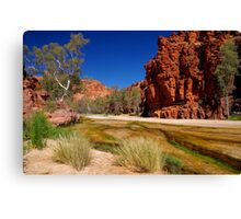 """""""Outback River"""" Canvas Print"""